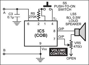 Fig. 5: The COB circuit for another 2-in-1mantra player