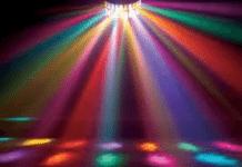 digitally adjustable dancing lights project
