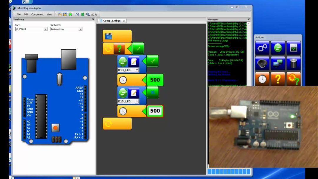 Arduino Based Digital IC Tester Using MATLAB