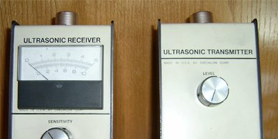 ultrasonic transmitter and reciever