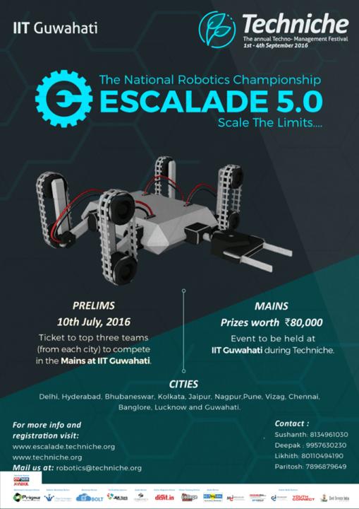 Mount Up Your Robotic Skills Through Escalade National Robotic