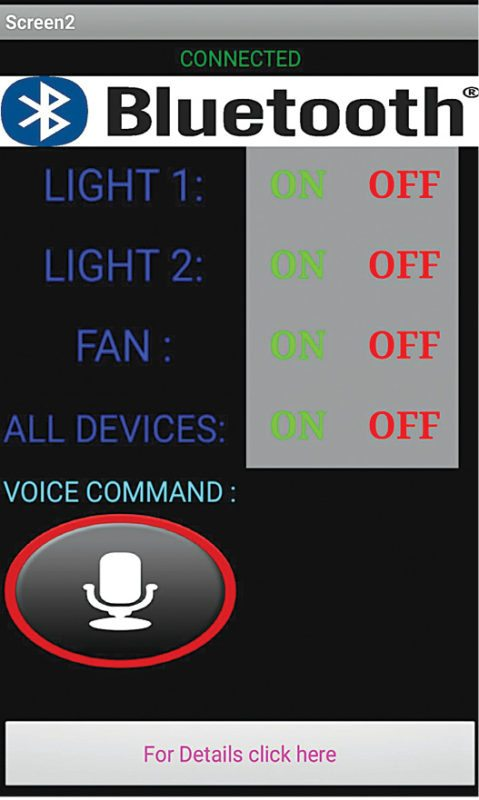 home automation system using a simple android app diy projects
