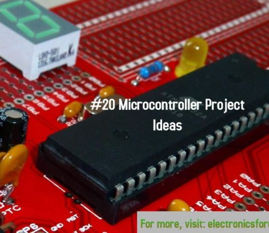 microcontroller project ideas