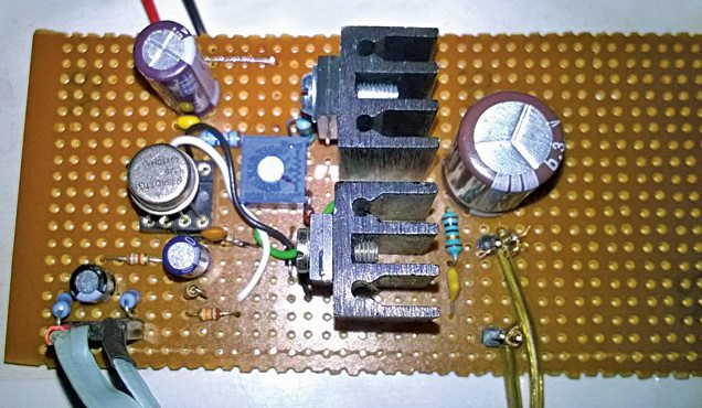 LME49710 Based Audio Amplifier