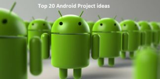 Android Project Ideas | Android Projects