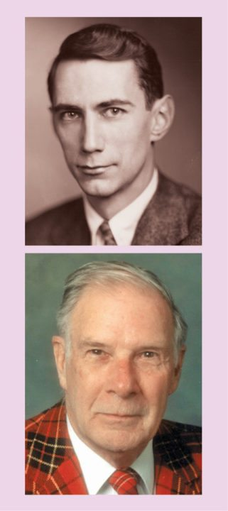 Claude Elwood Shannon (top) and Richard Hamming (bottom)