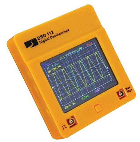 Typical pocket-size oscilloscope
