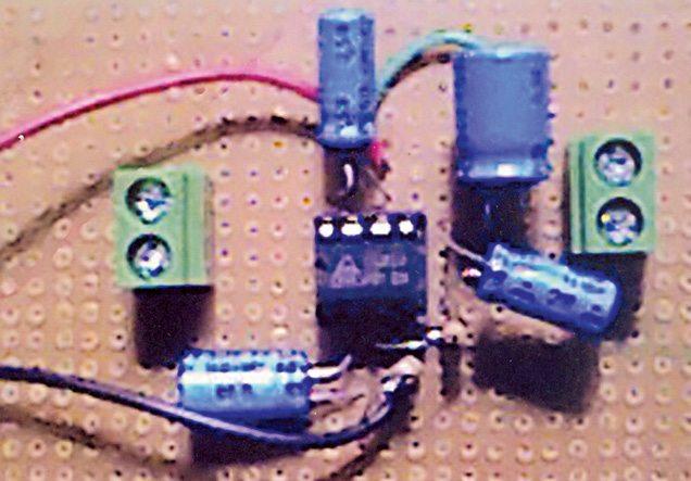 Author's prototype AF Amplifier