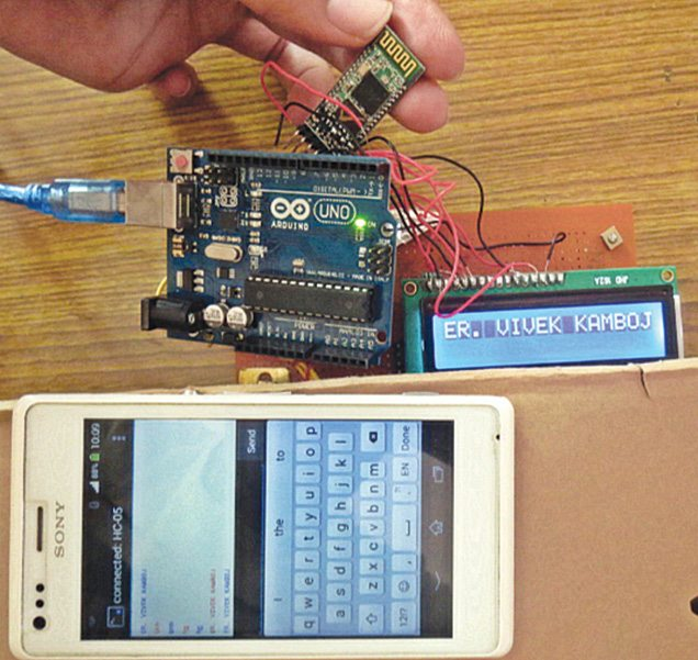 Arduino Based Programmable Digital Data Display