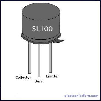 SL100 Transistor Pinout | SL100 Transistor Datasheet