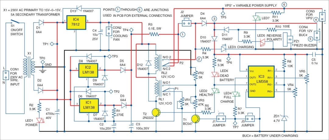 Adjustable Regulator By Tl431 likewise Ir2153 Yeniden 2x50v Smps Ilk Test Tda7294 in addition Sensitive Optical Burglar Alarm moreover Variable Adjustable Dc Power Supply 1 2v 25v Using Lm338k in addition Convert Smps Into Solar Charger Circuit. on 12v dc power supply circuit