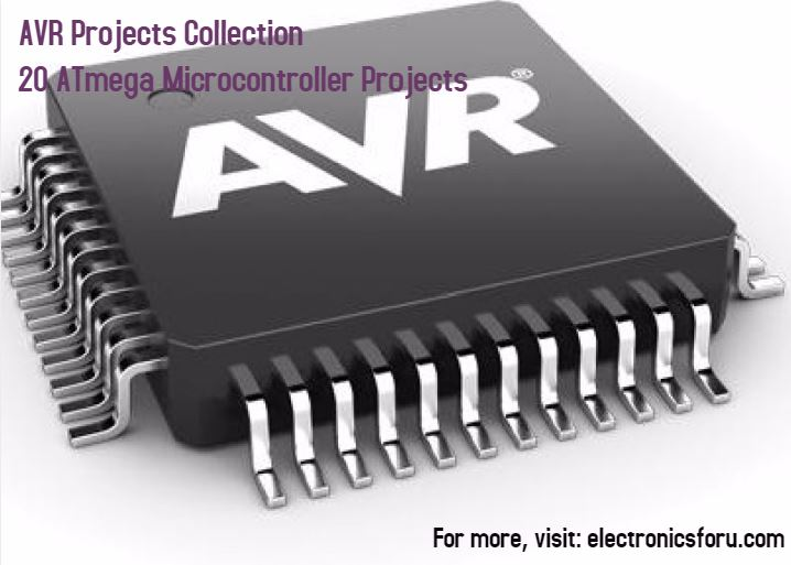 AVR Projects Collection | 15+ ATmega MCU Projects Ideas