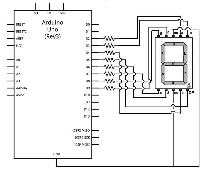 7 Segment Display Pinout | Working Understanding of 7