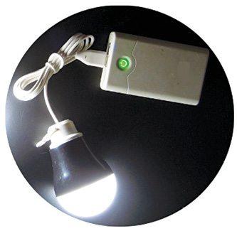 Typical USB LED bulb