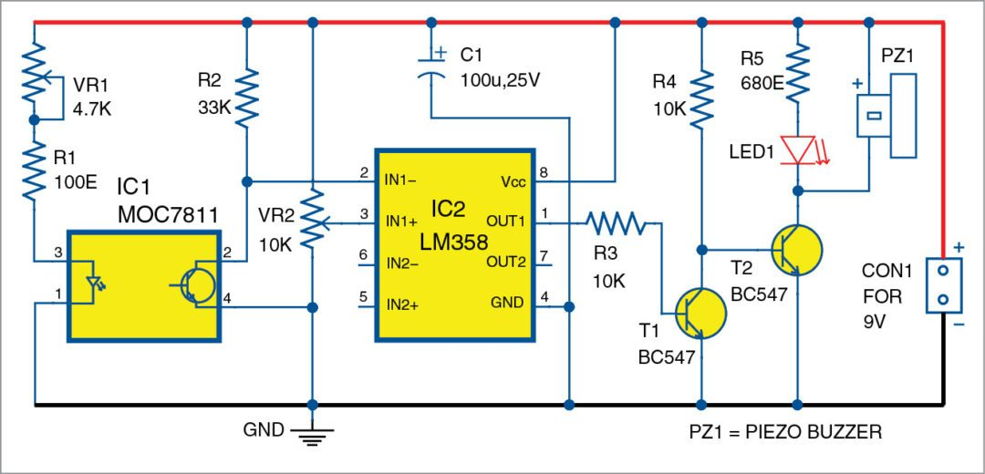 Schematics h besides Light Switch in addition Darksw as well Reverse Car Parking Circuit together with Setup Nordic Nrf24l01 Rf Modules To. on schematics of a buzzer