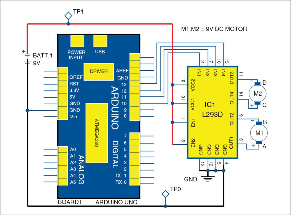 Controlling A Robotic Car Through MATLAB GUI   Electronics Project