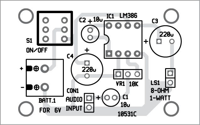 LM386 based Audio Amplifier | Full Project with Circuit