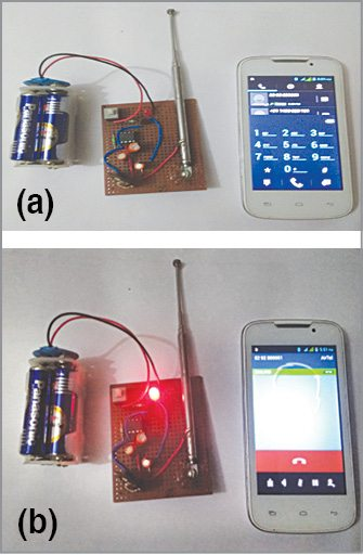 mobile phone detector prototype