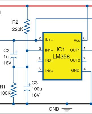 mobile phone detector using lm358 full electronics project game circuit diagram g five mobile circuit diagram #10