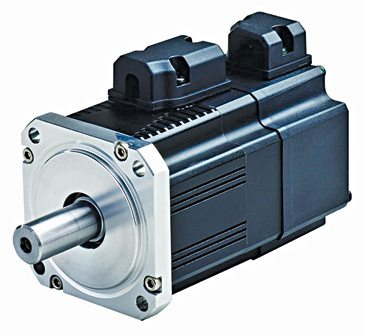 AC servo motor and unit