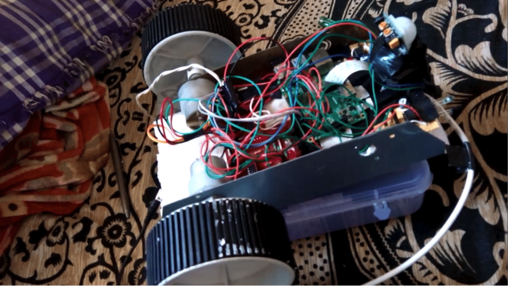 IoT Projects: Wireless Video Surveillance Robot using