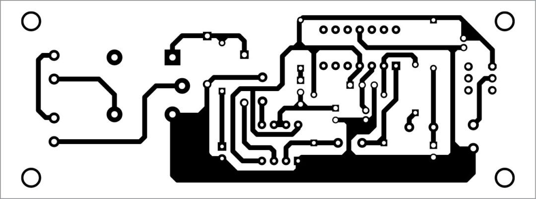 sound operated timer PCB