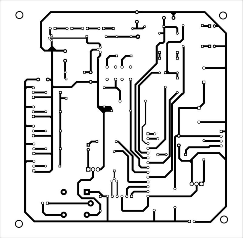 Pcb layout home security system