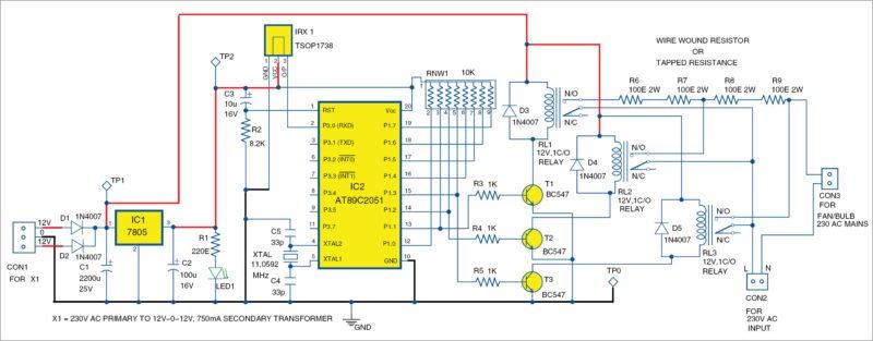 Remote Control Fan Using Arduino