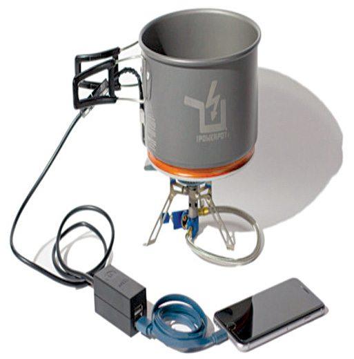 TEG module heating arrangement