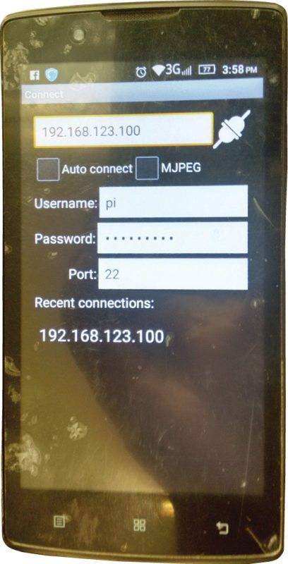 Surveillance Camera Using Raspi Cam And Android App
