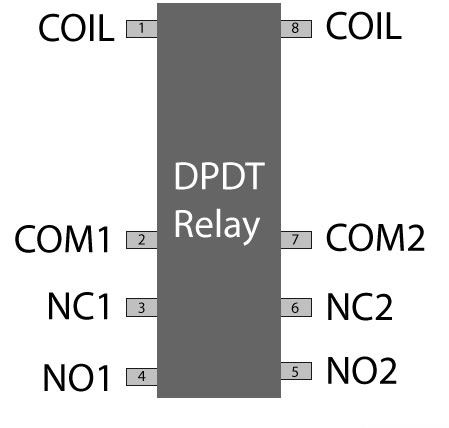 relay switch pin diagram how to identify a relay switch rh electronicsforu com SPST Switch Diagram Dpst Relay Diagram