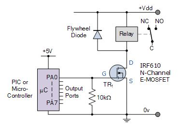 Relay switch pin diagram how to identify a relay switch micro controller relay switch circuit ccuart Choice Image