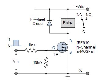 Relay switch pin diagram how to identify a relay switch n channel mosfet relay switch circuit ccuart Image collections
