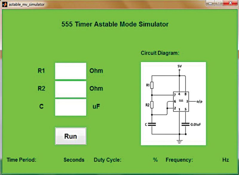 555 Timer 555 Timer Astable Mode Duty Cycle