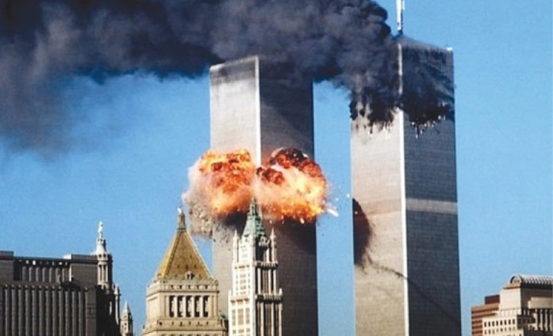 The 9/11 terrorist attack on American soil killed almost 3000 people (Image courtesy: http://stevetilford.com)