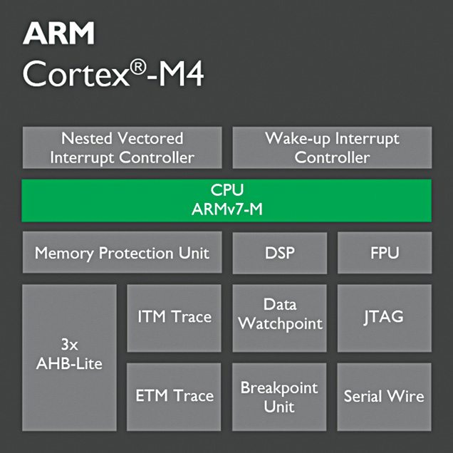 Cortex M4 has been very popular with low-power processors for the IoT
