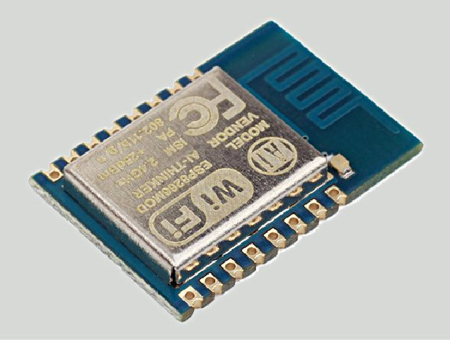 ESP8266 microcontroller chip