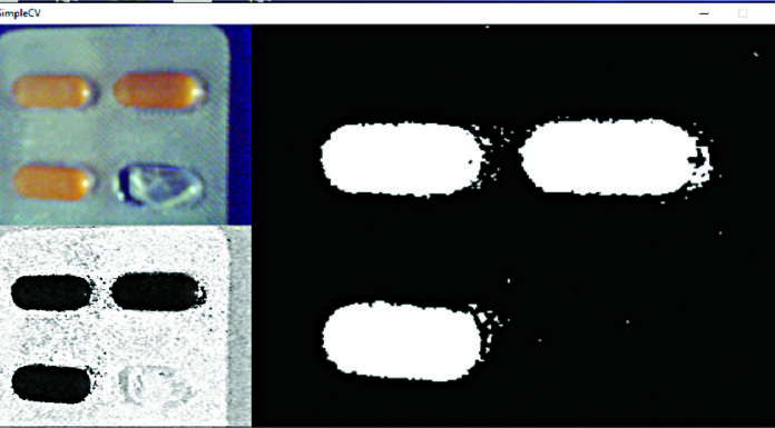computer vision to check the number of medicines