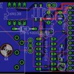 PAD2PAD simulated circuit