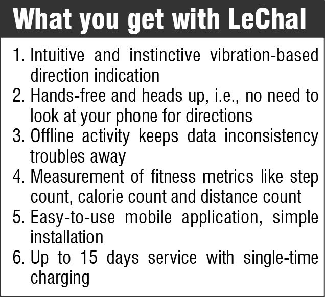 What you get with LeChal