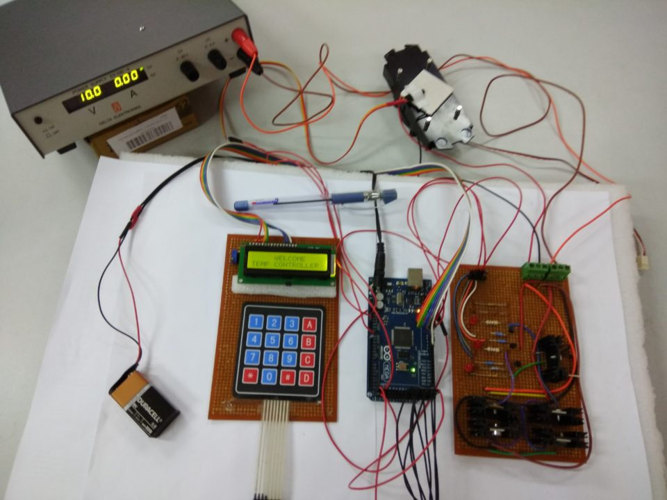 Cyclic Temperature Control System   Full Project with