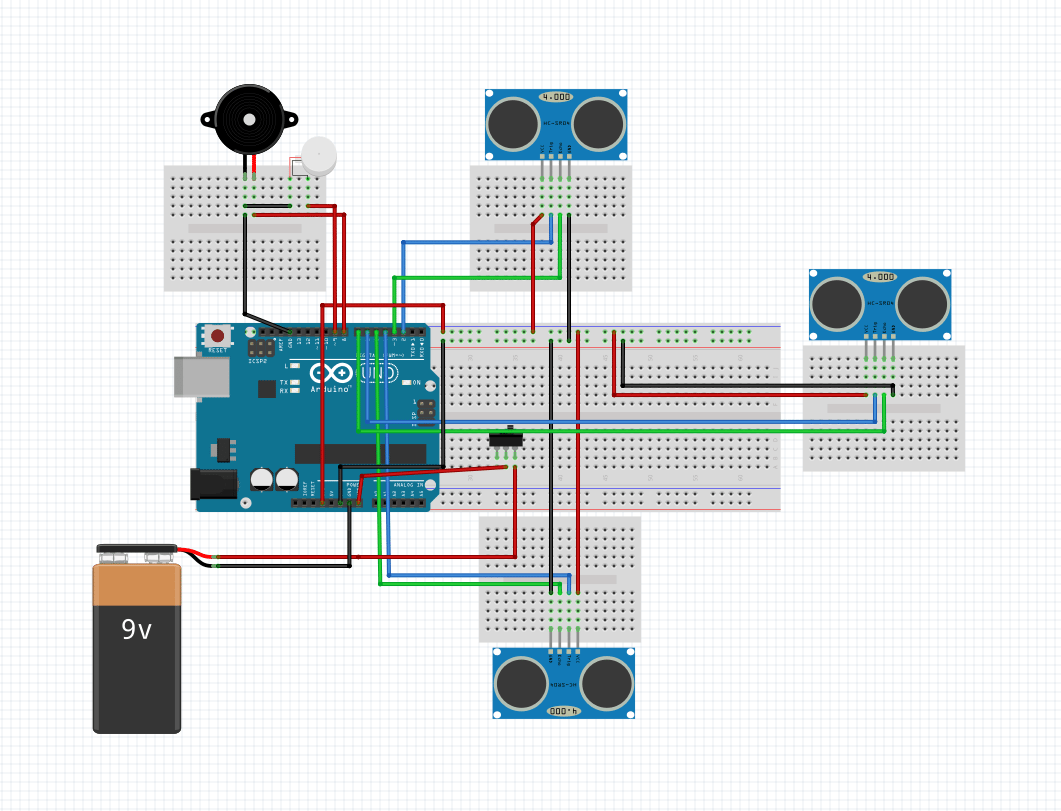 Smart Stick Using Arduino Uno Full Project With Source Code Ac Power Switch Relay Infrared Proximity Sensor Circuit Diagram