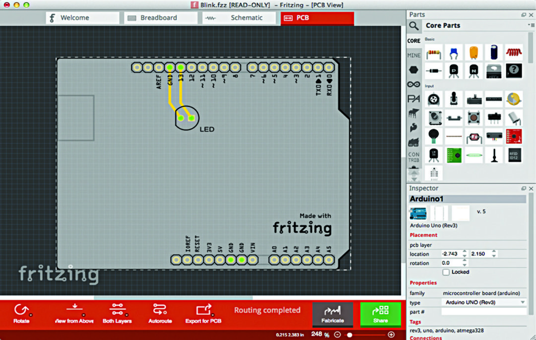 Fritzing: Design Your PCBs with Ease | Software Review