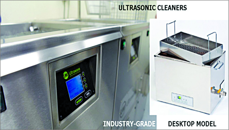 Types of ultrasonic cleaners