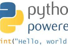 Python3 powered hello world