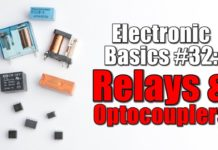 working of relays & optocouplers