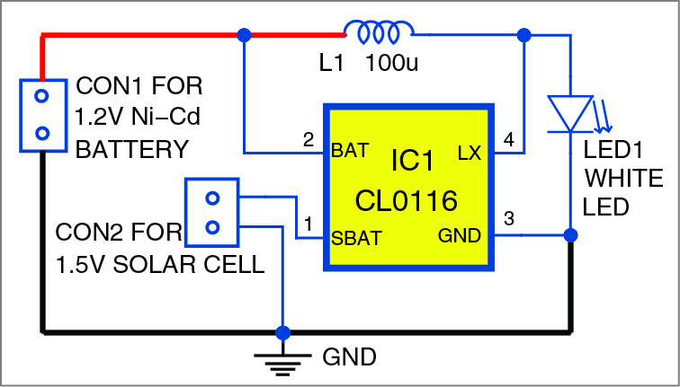 Garden solar light detailed circuit diagram available cheapraybanclubmaster Images