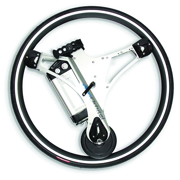 Replace your bicycle's front wheel with the GeoOrbital wheel to turn it into an electric bike (Courtesy: GeoOrbital)