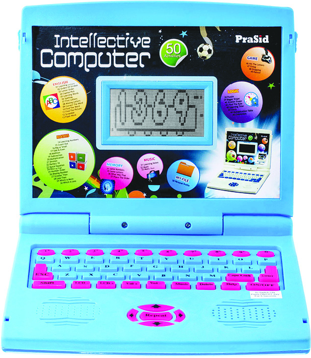 Computer-like gadgets have emerged as guided and effective learning tools for kids (Image courtesy: www.amazon.in)