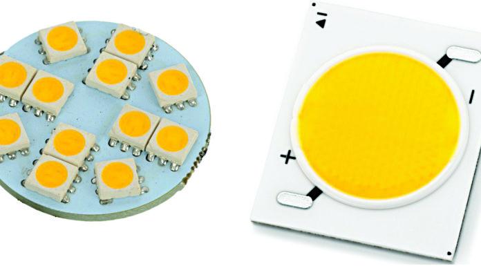 COB LED sample